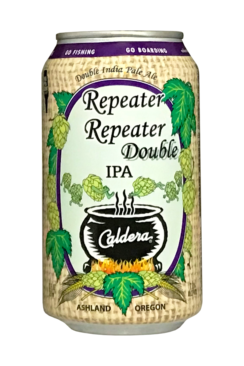 Caldera Repeater Repeater Double IPA: NOVEMBER RELEASE