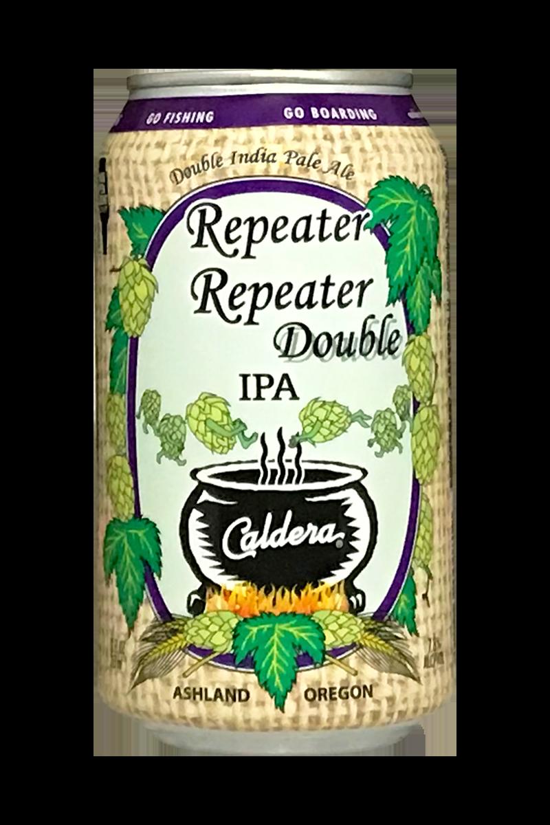 Caldera Repeater Repeater Double IPA: NOVEMBER RELEASE