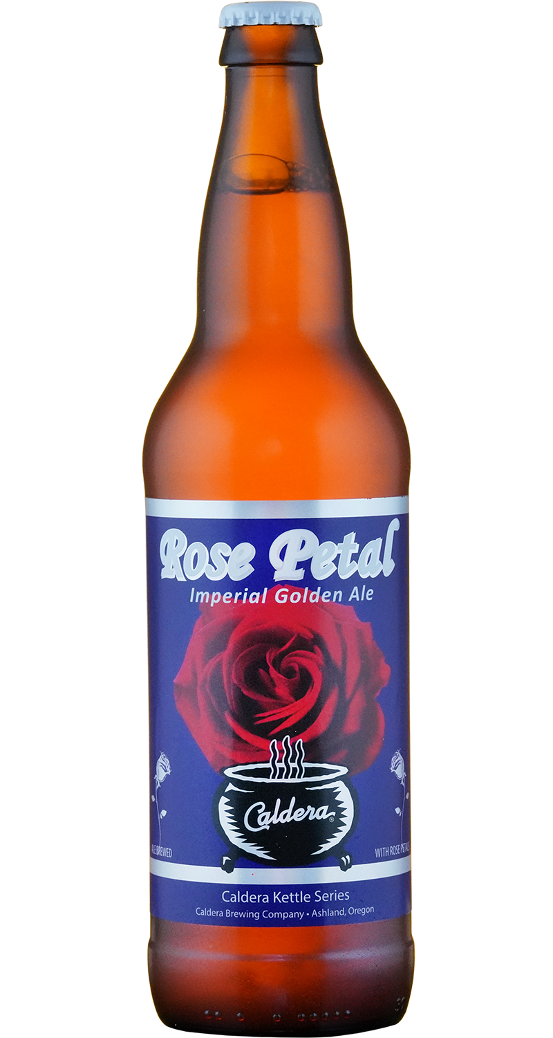 Caldera Rose Petal Imperial Golden Ale