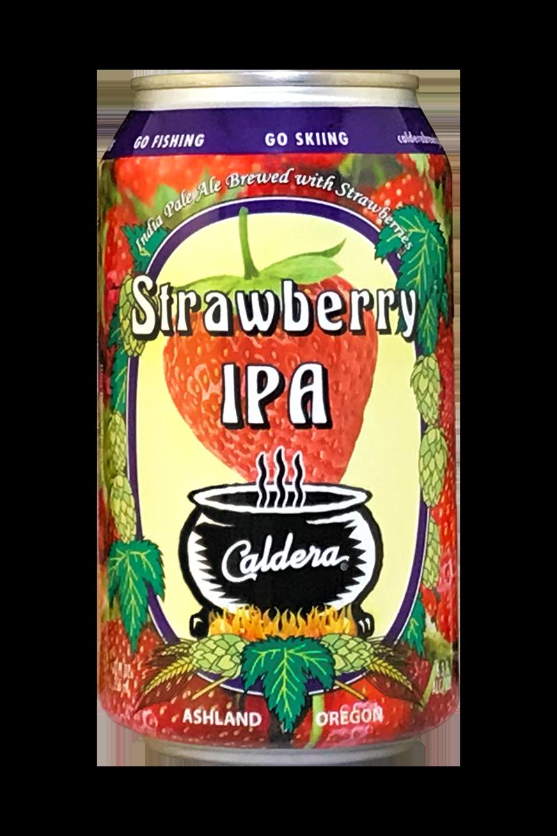 Caldera Strawberry IPA: MAY RELEASE