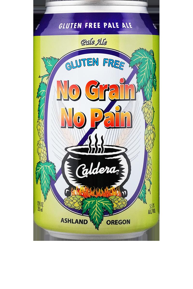 No Grain No Pain 100% Gluten Free Pale Ale